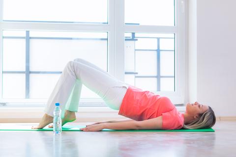 Stress og motion. Yoga
